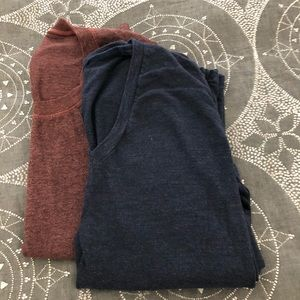 TWO Monrow T-Shirts, Size M